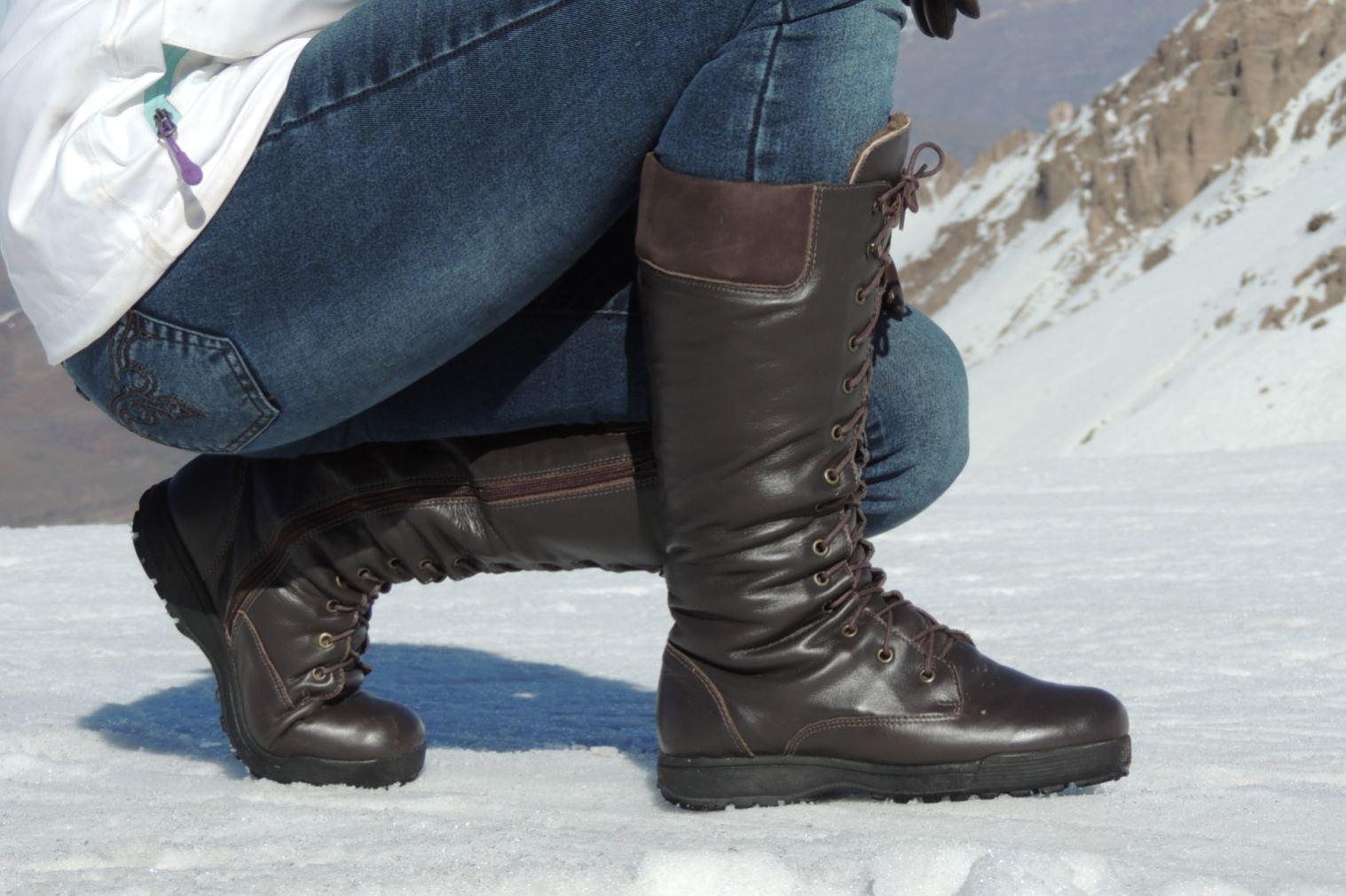 Calçados Inverno Frio e Neve