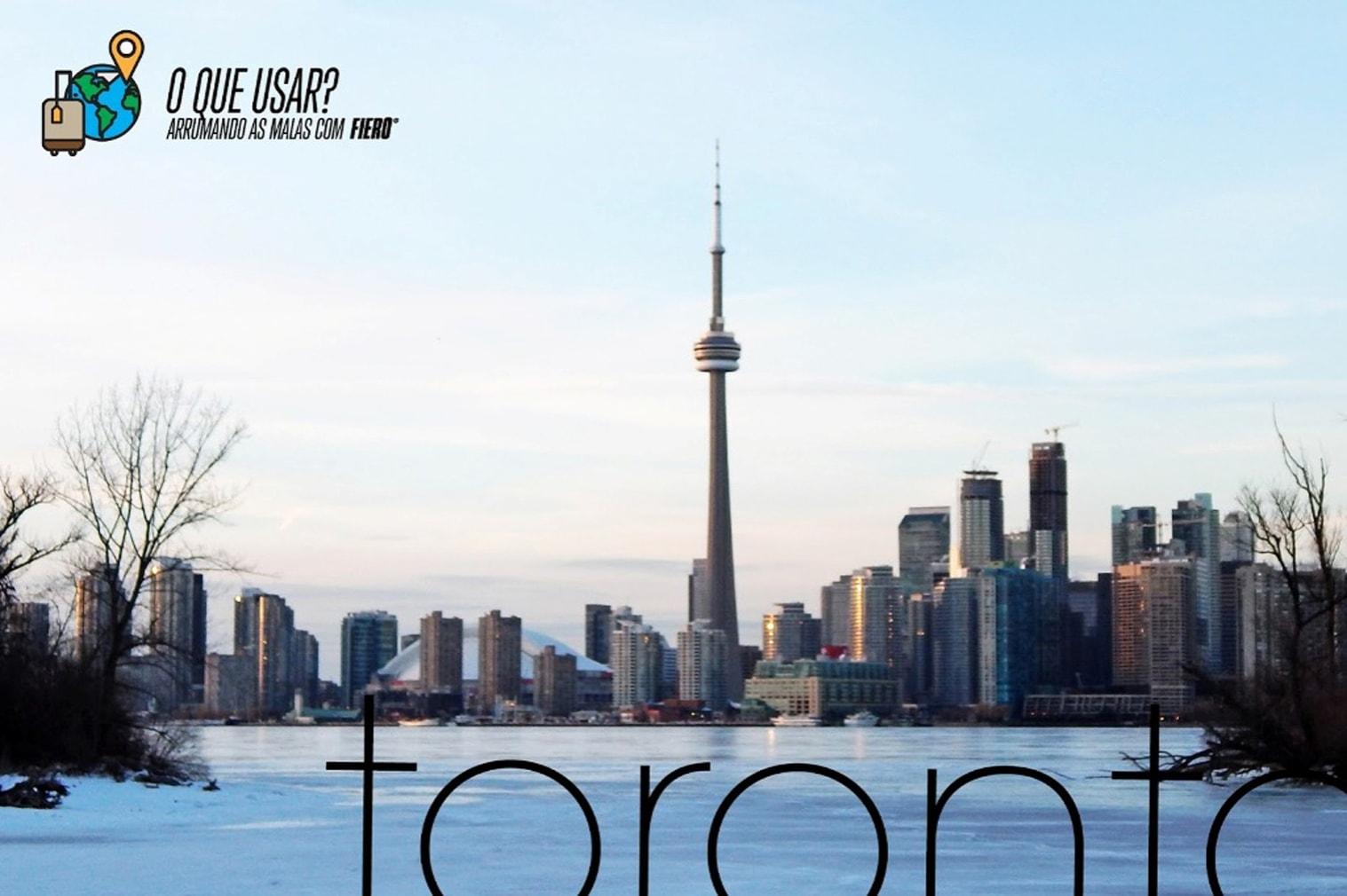 O que usar inverno Toronto