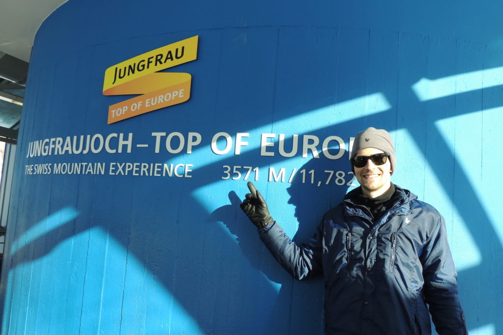 Informações sobre Jungfraujoch