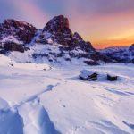 Paisagens inspiradoras do inverno no nosso planeta
