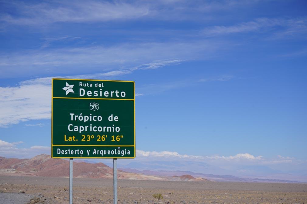Atacama Trópico Capricórnio