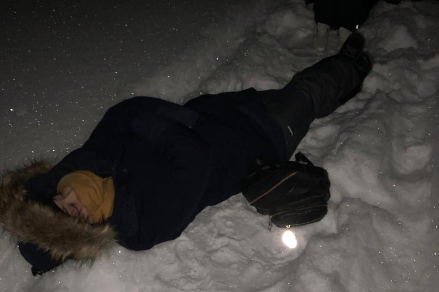 Aurora Boreal Esperando Neve