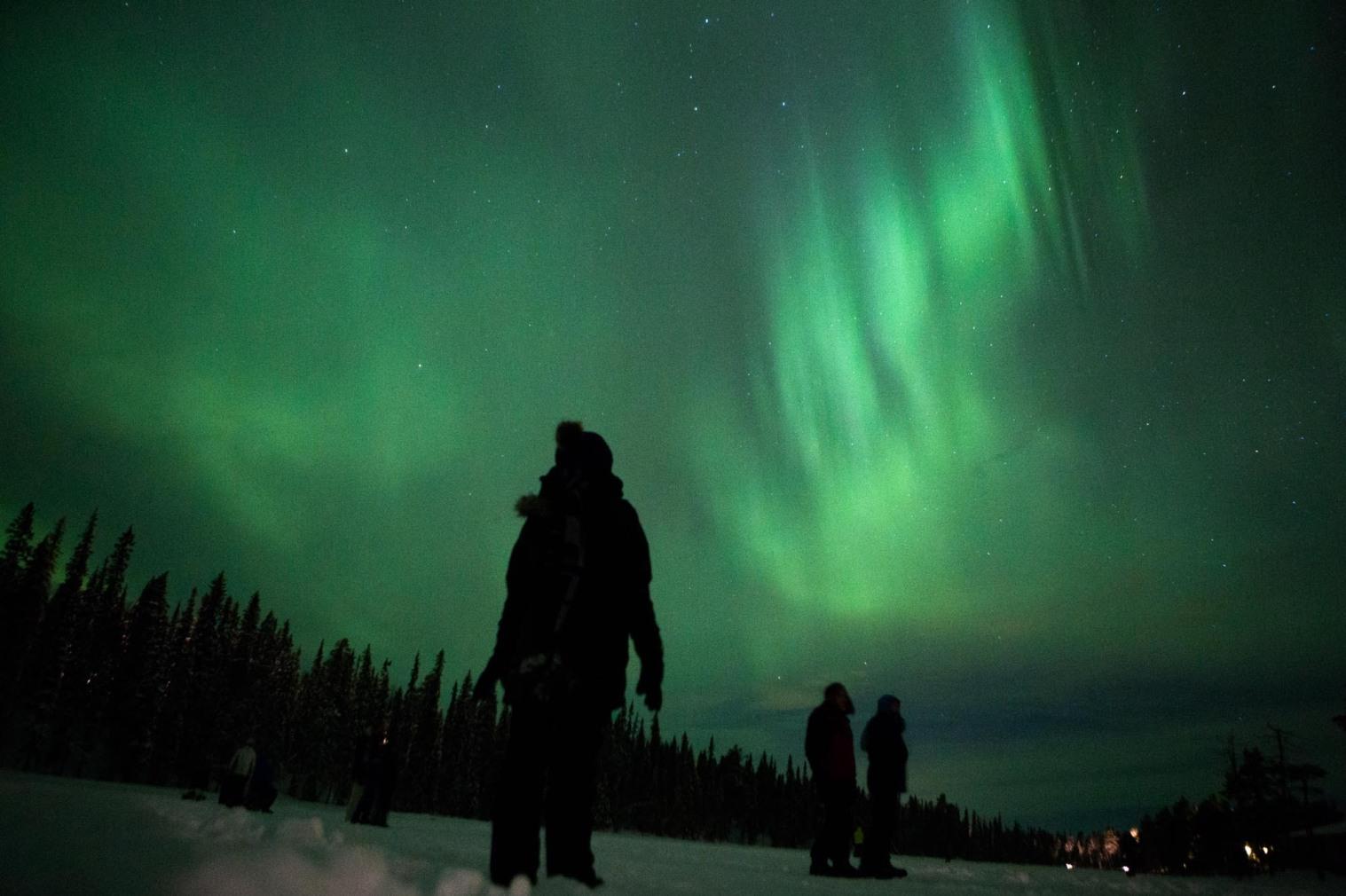 Finlândia Aurora Boreal