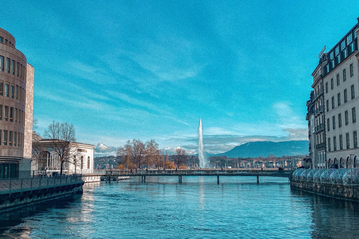 Genebra Suíça Inverno
