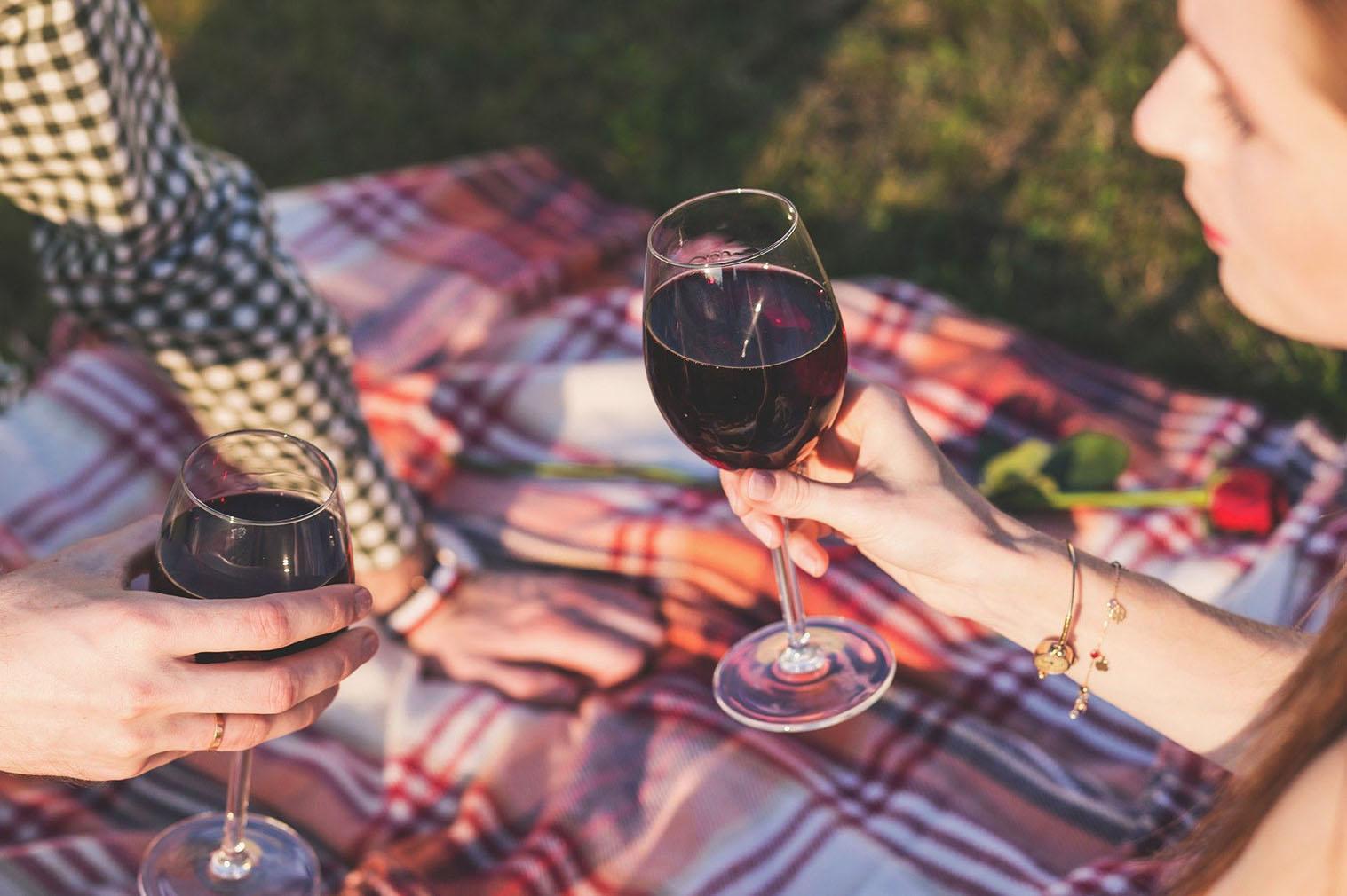 Taça vinho viagem