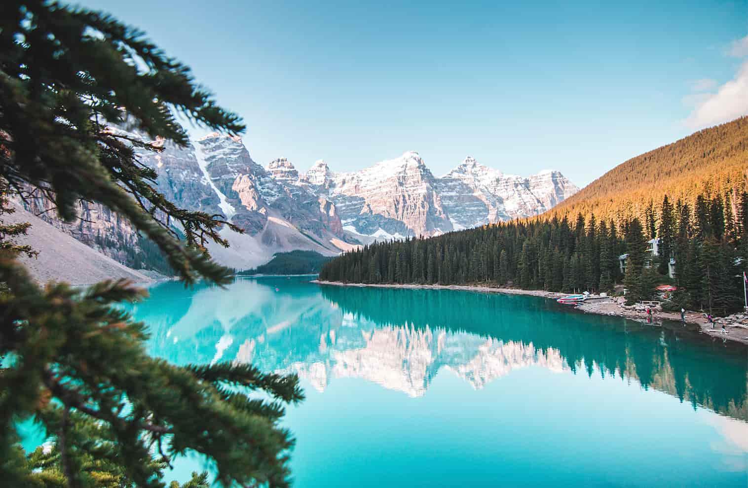 Belas paisagens do Canadá