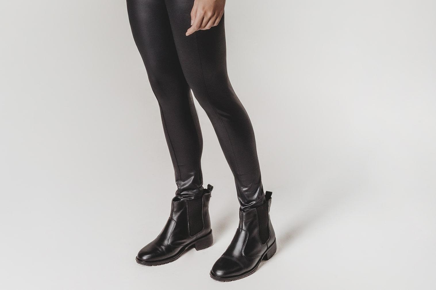 Escolher o calçado para usar com legging