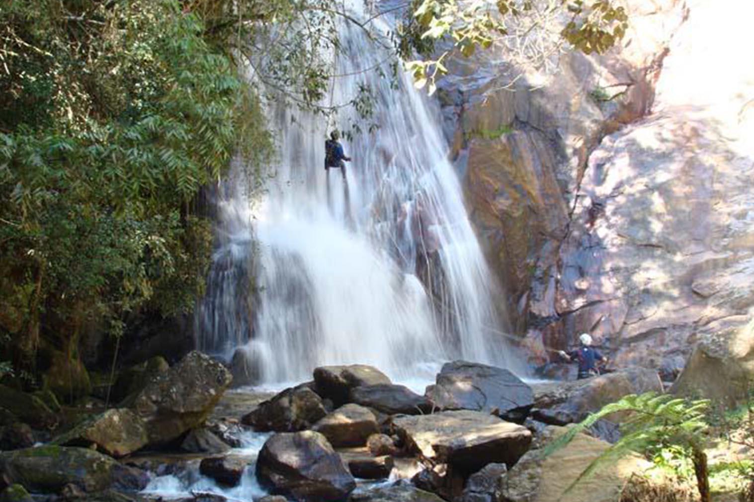 Cachoeira em Santo Antônio do Pinhal