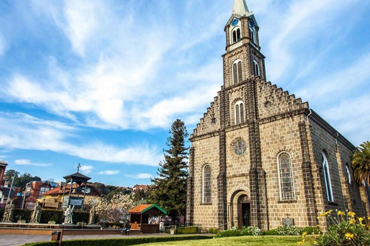Igreja ponto turístico de Gramado